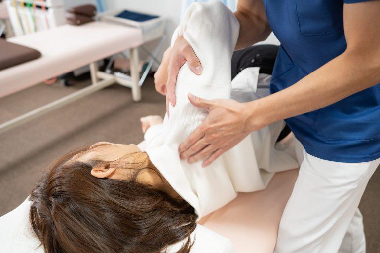 新潟市中央区で肩こりの治療は、さいき接骨院へ